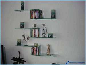glass shelves installations